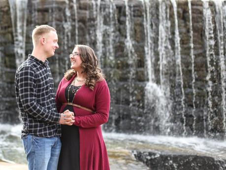 Michelle + Hunter Engagement @ Yates Mill Historic Park - Raleigh, North Carolina