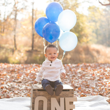 Jackson 1st Birthday @ Blue Jay Point Park - Raleigh, North Carolina
