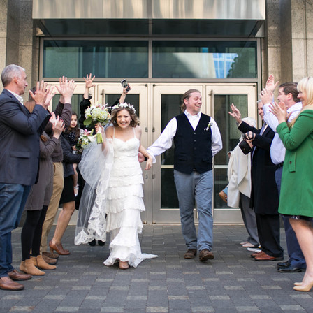 Casey + Mac Wedding @ Downtown Raleigh, North Carolina