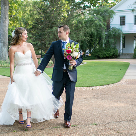 Kaitlin + Ahren Wedding @ Fred Fletcher Park - Raleigh, NC