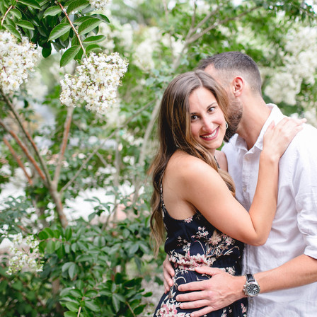 Allison + Andy Engagement @ The Mayton Inn - Downtown Cary, North Carolina