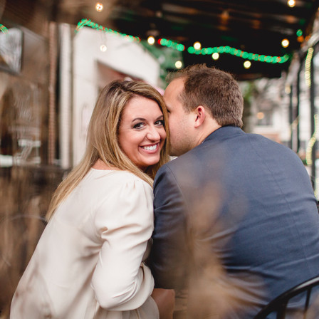 Stephanie + John Engagement @ City Market - Raleigh, North Carolina