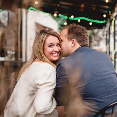Stephanie + John Engagement @ City Market - Raleigh, North Carolina