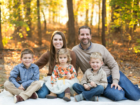 White Family @ Fred G. Bond Park - Cary, North Carolina