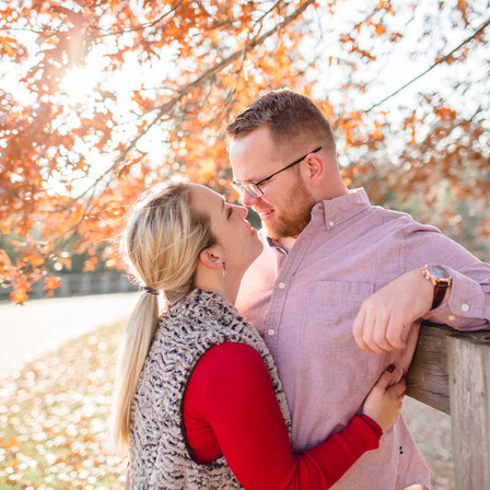Becki + James Engagement @ Yates Mill Historic Park - Raleigh, North Carolina