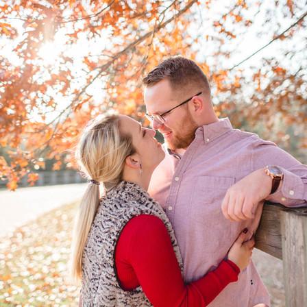 Becki + James Engagement @ Yates Mill Historic Park - Raleigh, North Carolina