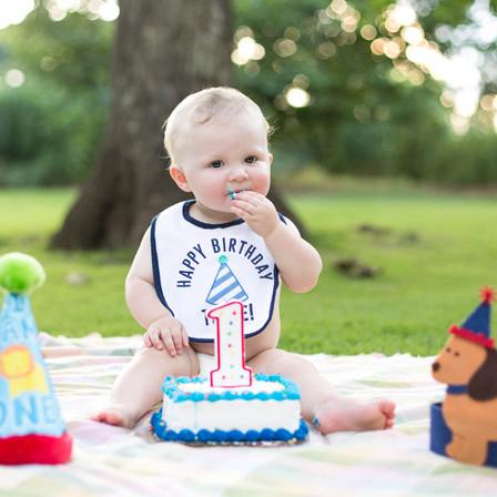 Jacob 1st Birthday @ Fred Fletcher Park - Raleigh, North Carolina