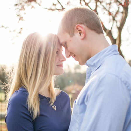 Andrea + Jon Engagement @ Ayr Mount - Hillsborough, North Carolina