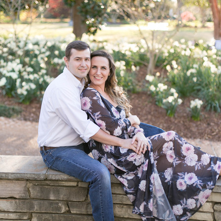 Kaitlin + Ahren Engagement @ Fred Fletcher Park - Raleigh, NC