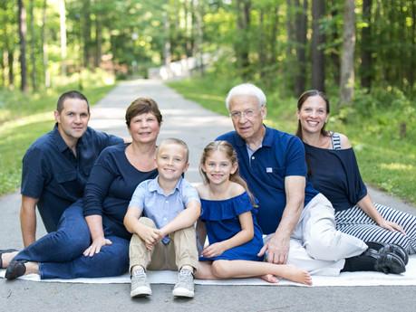 Tyner Family @ Apex Nature Park - Apex, North Carolina