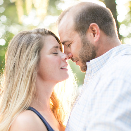 Leigh Ann + Will Engagement @ Mordecai Historic Park - Raleigh, NC