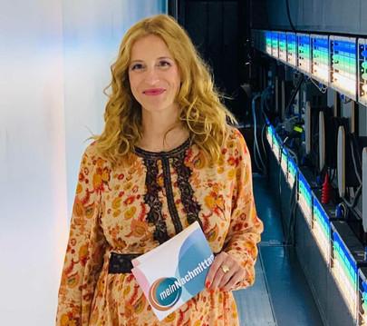 NDR-Moderatorin Ilka Petersen bei Klartext LIVE