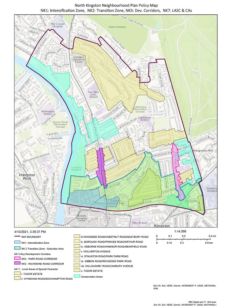 NKNPlan Policy Map NK1, NK2, NK3, NK7 an