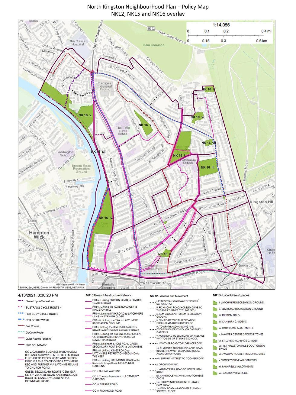 NKNPlan Policies Map NK12, NK15, NK16-pa