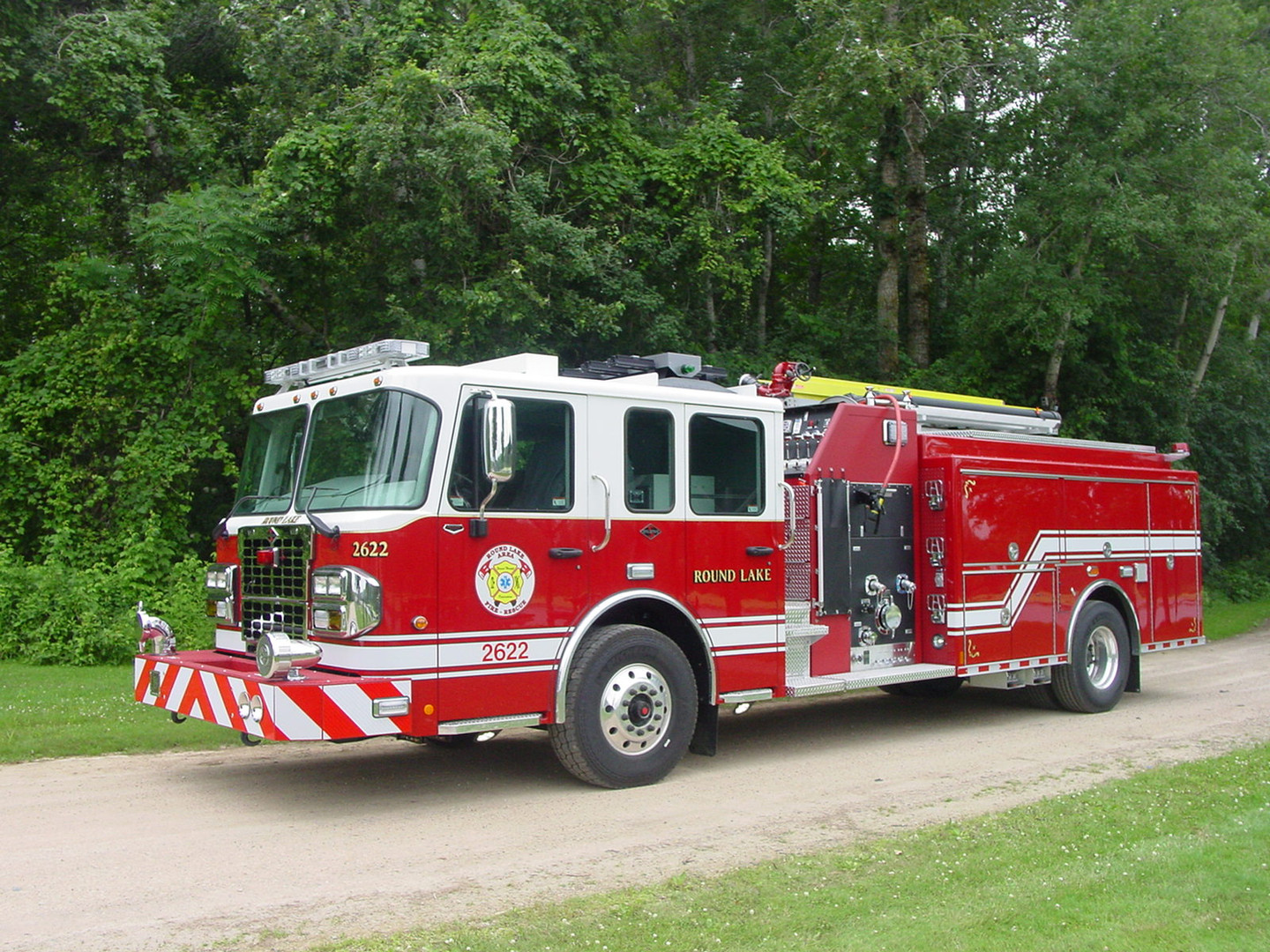 Greater Round Lake Fire Protection District, Round Lake IL ~ Pumper
