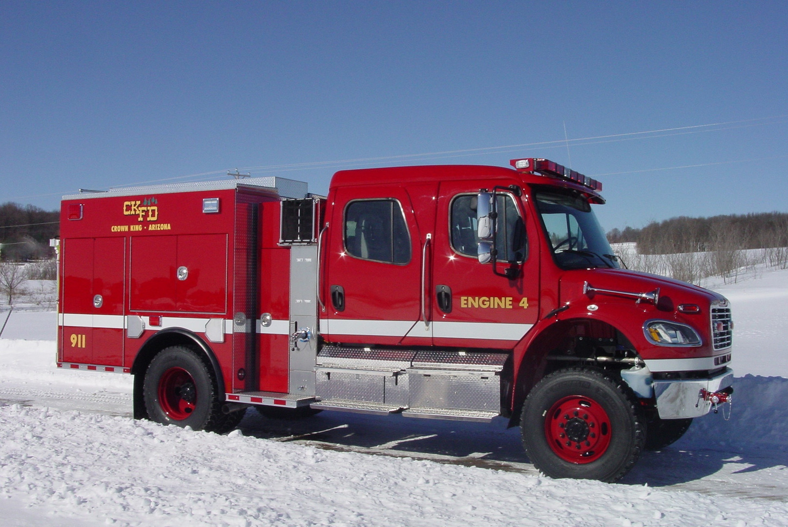 Crown King Fire District, Crown King AZ ~ Type III Engine