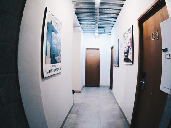 Corredor dos quartos