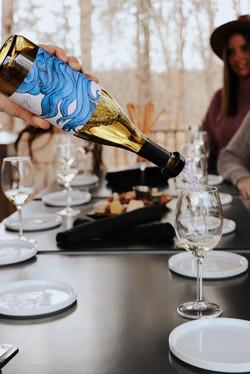 wine tasting at Twisted