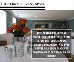 terrace event space