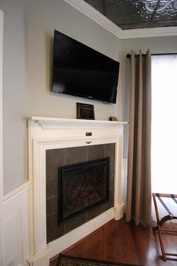 Cozy fire place