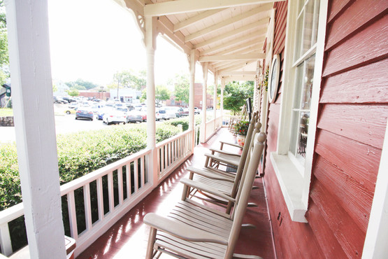 Front porch sitting
