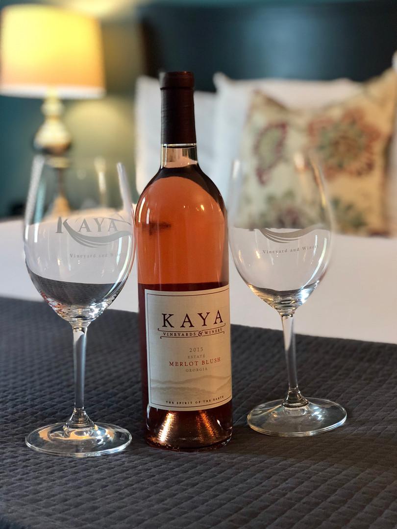 Kaya tasting room