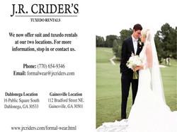 JR Criders wedding
