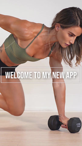 New version of fitness and health website and mobile native apps for leading influencer Senada Greca