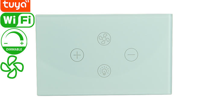 FL01-US Tuya Smart Wi-Fi Fan/Light Switch