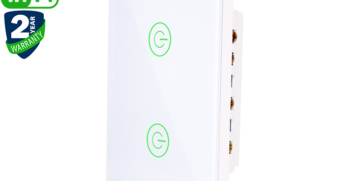 X802K 2gang US standard tuya Wi-Fi smart switch