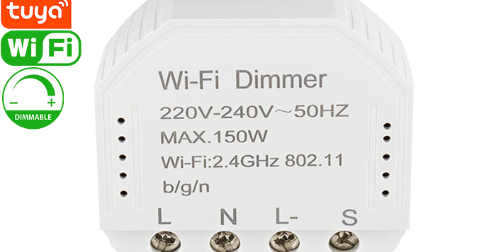 QS-WIFI-D01 Tuya Wi-Fi dimmer module