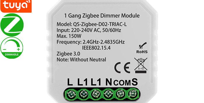 QS-Zigbee-D02-L Zigbee Dimmer Module