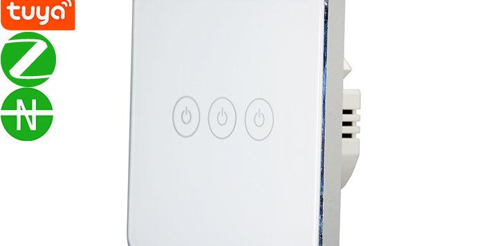 X753U 3gang Zigbee Lno-neutral Switch