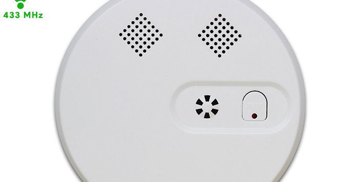 WL-228W RF433 Wireless smoke detector