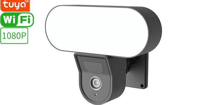 D6 Tuya Smart Wi-Fi Floodlight Camera