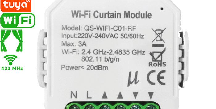 QS-WIFI-C01-RF Tuya WIFI+RF Curtain Switch Module