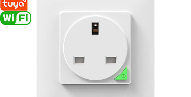 SWP86-01YG Wall Outlet/Socket