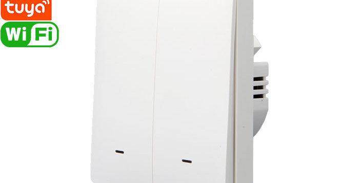 X802A Tuya Smart 2gang Wi-Fi Switch