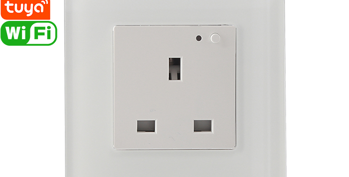 K905-UK Wall Outlet/Socket