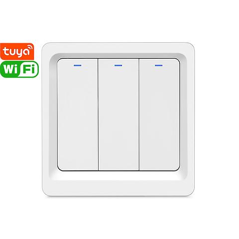 DS-102-3 3gang EU standard tuya Wi-Fi smart switch
