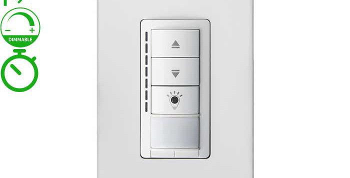 BRT-371 PIR sensor dimmable switch