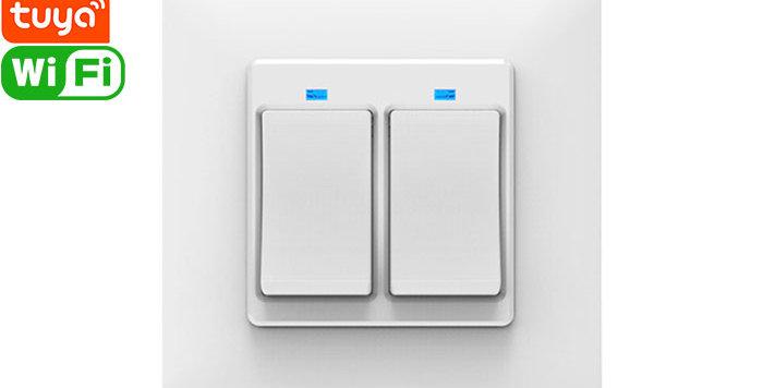 SS86-02AJAI 2gang Light Switch