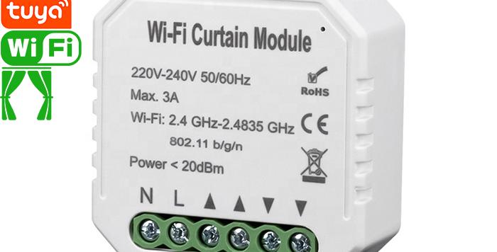 QS-WIFI-C01 Tuya Wi-Fi curtain switch module