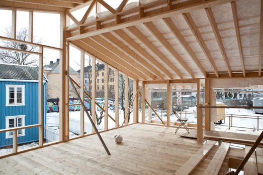 Guro og Johns hus (foto: Vigdis Haugtrø)