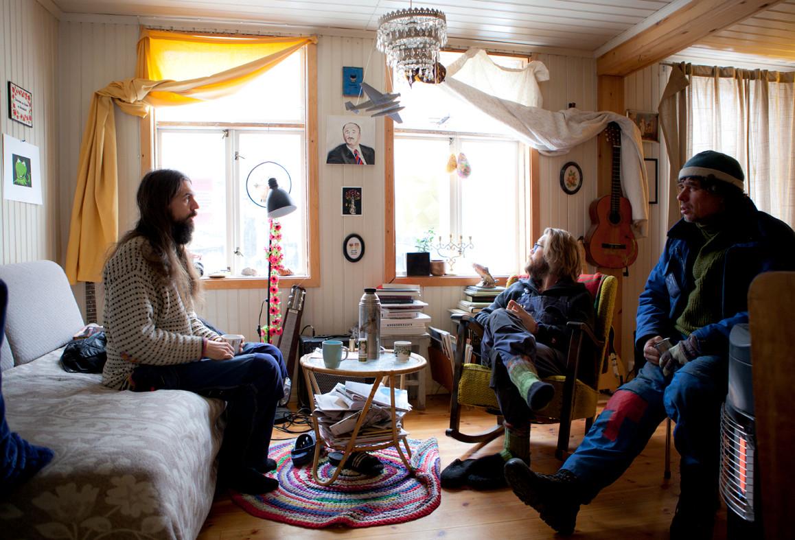 Markus, Per-Kristian og Iacob (foto, Vigdis Haugtrø)