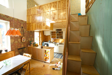Interiør fra Markus og Johannas hus (2) (foto: Line Anda Dalmar)