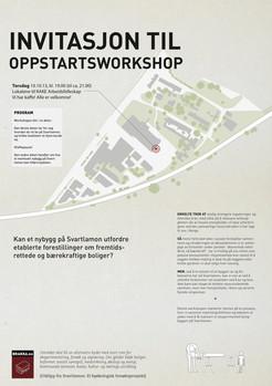 Workshopinvitasjon, oppstartsworkshop