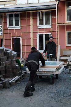 Torfinn og Per Kristian (foto: Nøysom arkitekter)