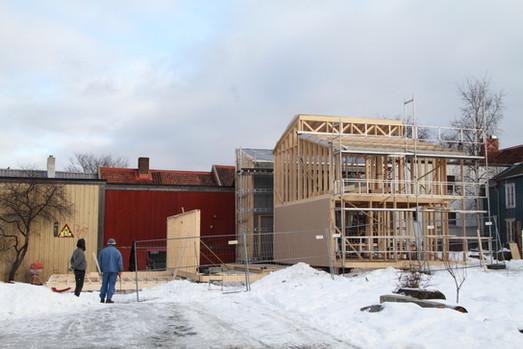 Byggeplass  (foto: Nøysom arkitekter)