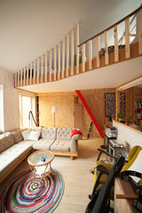 Interiør fra Per Kristian og Lines hus (4) (foto: Line Anda Dalmar)